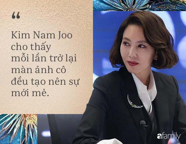 Mỹ nhân dao kéo Kim Nam Joo: Không chọn là ngôi sao sáng nhất, chỉ cần là người phụ nữ hạnh phúc nhất - Ảnh 2.