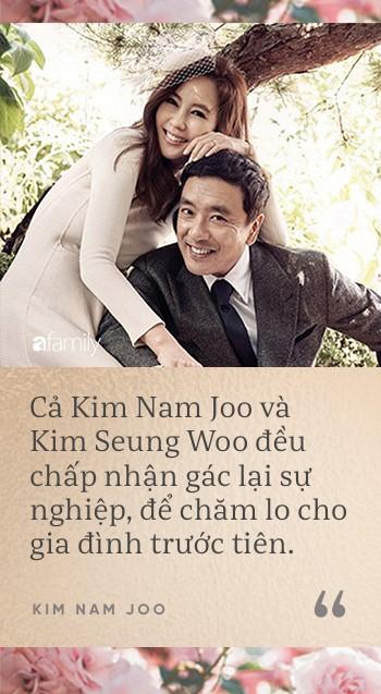 Mỹ nhân dao kéo Kim Nam Joo: Không chọn là ngôi sao sáng nhất, chỉ cần là người phụ nữ hạnh phúc nhất - Ảnh 5.