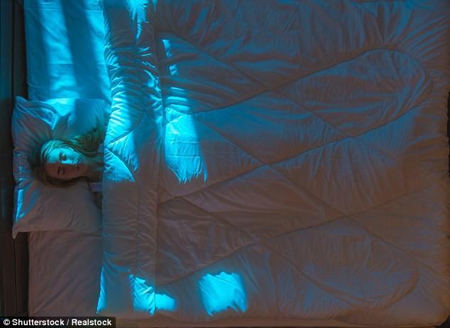 Sử dụng rèm cửa để ngăn chặn mọi ánh sáng chiếu vào giường ngủ nếu bạn không muốn bị trầm cảm và đây là lý do tại sao - Ảnh 1.