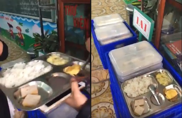 Phụ huynh ngỡ ngàng khi suất ăn trị giá 13.000 đồng của học sinh lớp 1 chỉ có 2 miếng chả và 1 miếng trứng - ảnh 4