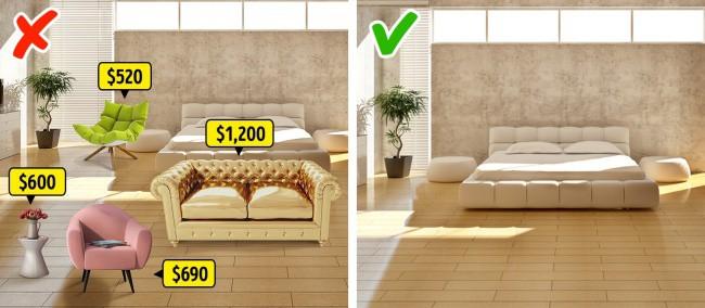 Những ý tưởng thiết kế nội thất rất nhiều người sử dụng nhưng không hiệu quả - Ảnh 5.