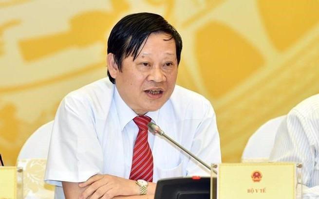 Thứ trưởng Bộ Y tế Nguyễn Viết Tiến: