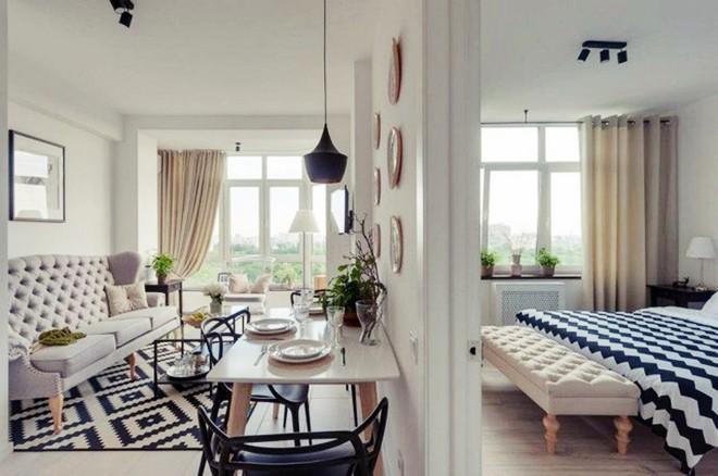Choáng ngợp trước căn hộ 3 phòng trắng tinh khôi đẹp như cổ tích, cứ bước chân vào là mùa hè lùi xa - Ảnh 2.