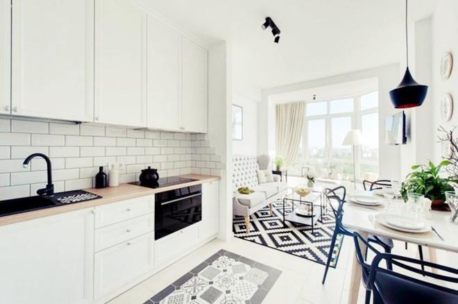 Choáng ngợp trước căn hộ 3 phòng trắng tinh khôi đẹp như cổ tích, cứ bước chân vào là mùa hè lùi xa - Ảnh 10.