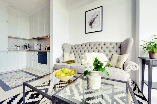 Choáng ngợp trước căn hộ 3 phòng trắng tinh khôi đẹp như cổ tích, cứ bước chân vào là mùa hè lùi xa - Ảnh 11.