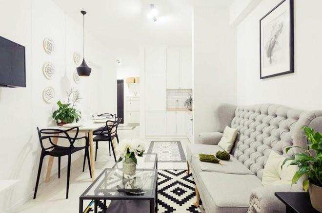 Choáng ngợp trước căn hộ 3 phòng trắng tinh khôi đẹp như cổ tích, cứ bước chân vào là mùa hè lùi xa - Ảnh 12.