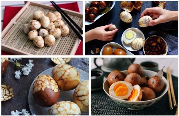 Độc đáo món trứng trà của Trung Quốc nhìn cứ ngỡ một viên đá cẩm thạch đắt tiền - Ảnh 10.