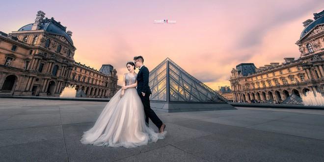 Bộ ảnh cưới ở 6 quốc gia cùng hành trình liều và điên của cặp đôi Hà Nội - Ảnh 1.