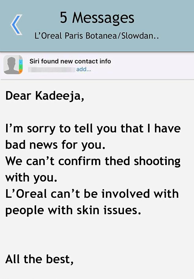 Một hãng mỹ phẩm đã từ chối cộng tác với một blogger làm đẹp chỉ vì... làn da cô có quá nhiều mụn - Ảnh 3.