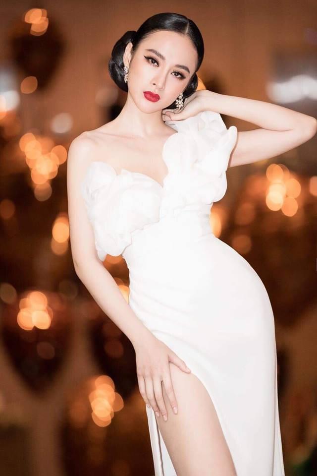Hoa hậu Hương Giang táo bạo với đầm xẻ cao tận hông, thách thức  cả cô nàng táo bạo Angela Phương Trinh - Ảnh 7.