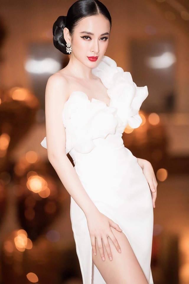 Hoa hậu Hương Giang táo bạo với đầm xẻ cao tận hông, thách thức  cả cô nàng táo bạo Angela Phương Trinh - Ảnh 8.