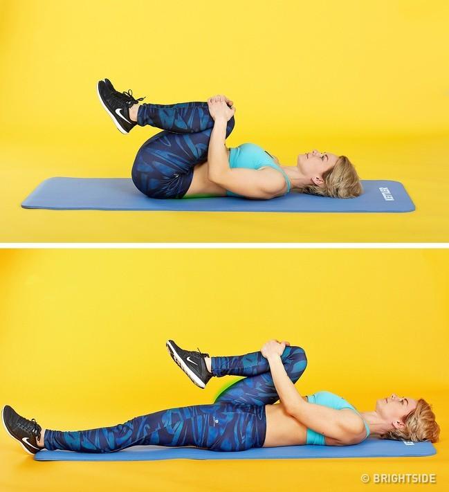 5 bài tập tại ghế văn phòng có tác dụng giảm đau lưng không kém massage mà chị em nào cũng thích - Ảnh 7.