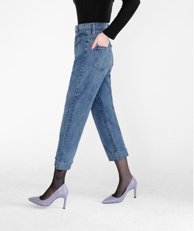 Vòng 3 có lép kẹp thì cũng chẳng sao, nhờ 4 dáng quần jeans nịnh đầm này - Ảnh 8.