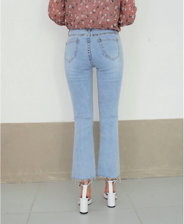 Vòng 3 có lép kẹp thì cũng chẳng sao, nhờ 4 dáng quần jeans nịnh đầm này - Ảnh 14.
