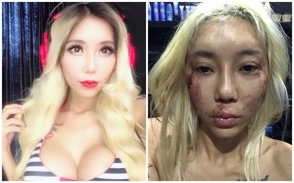 Nữ DJ gợi cảm đăng hình ảnh tàn tạ, rớm máu và sự thật gây sốc - Ảnh 1.