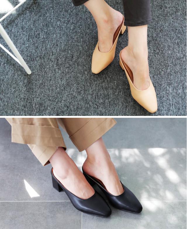 Không phải sneaker hay cao gót lênh khênh, giày khuyết gót là món đồ nàng công sở cần sắm ngay trong hè này - Ảnh 11.