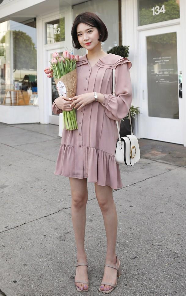 12 mẫu váy tay bồng vừa điệu đà lại duyên dáng mà các nàng chẳng thể bỏ qua cho ngày đi chơi cuối tuần - Ảnh 10.