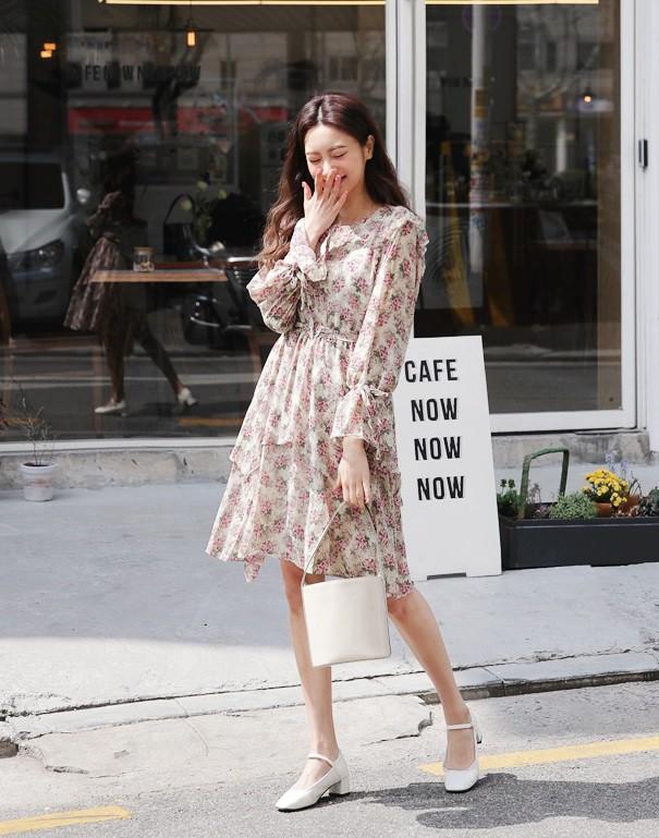 12 mẫu váy tay bồng vừa điệu đà lại duyên dáng mà các nàng chẳng thể bỏ qua cho ngày đi chơi cuối tuần - Ảnh 6.