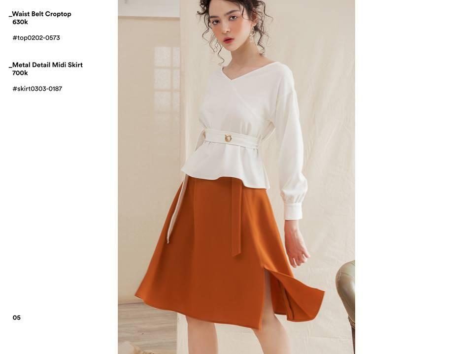 Liền tay cập nhật ngay những những mẫu váy, áo