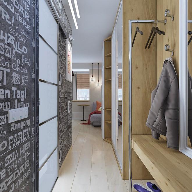 Không gian sống lý tưởng trong hai căn hộ có diện tích chưa đến 20m² - Ảnh 4.