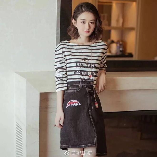 Mặc áo Dior nhưng Triệu Lệ Dĩnh lại bị mỉa mai rằng trông như đang diện đồ Taobao - Ảnh 1.