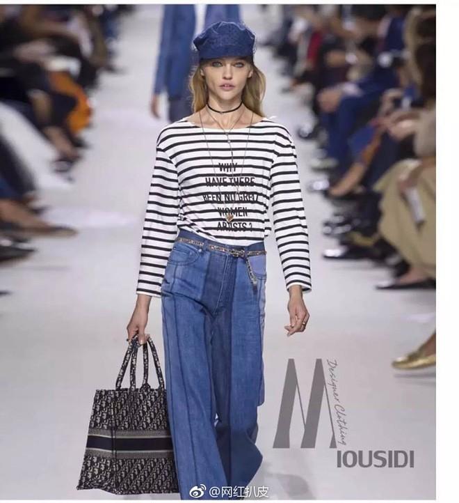 Mặc áo Dior nhưng Triệu Lệ Dĩnh lại bị mỉa mai rằng trông như đang diện đồ Taobao - Ảnh 2.
