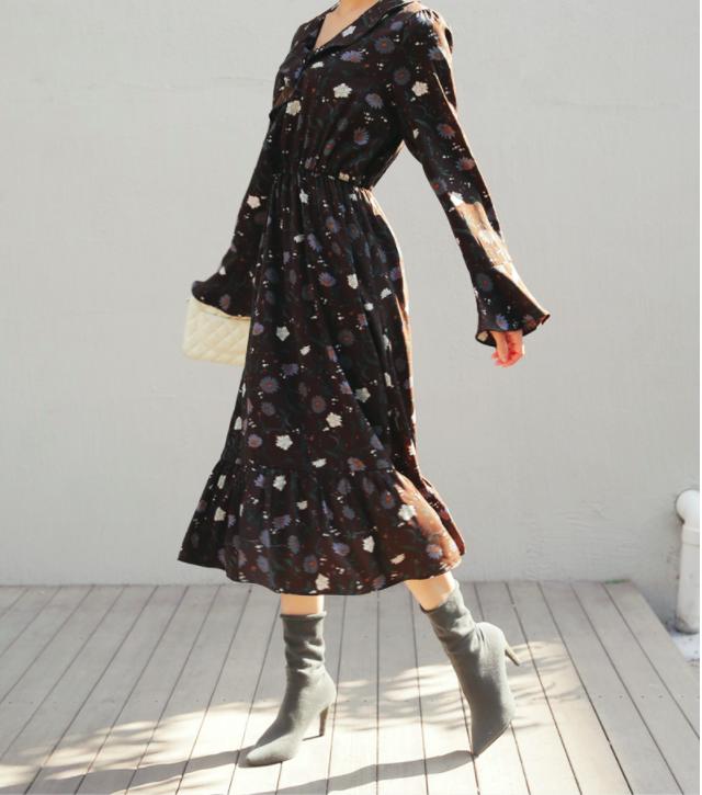 Cứ đến đầu mùa Xuân/Hè là những thiết kế váy hoa lại rộ lên với đủ mọi kiểu dáng - Ảnh 9.