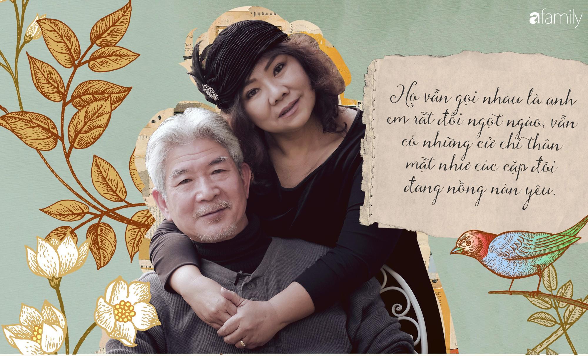 Vợ chồng NSND Thanh Hoa: Cuộc tình bốc đồng thản nhiên đi qua hơn 30 năm và cái nắm tay viên mãn tuổi xế chiều - Ảnh 5.