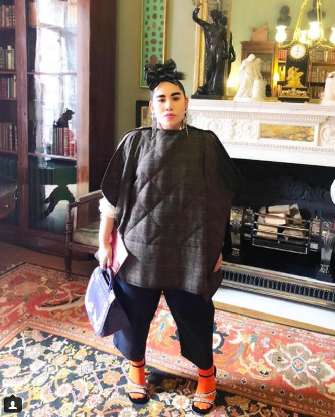 Tròn trịa đã sao? Nàng fashionista béo này vẫn được Vogue tán tụng là ngôi sao của Fashion Week - Ảnh 7.