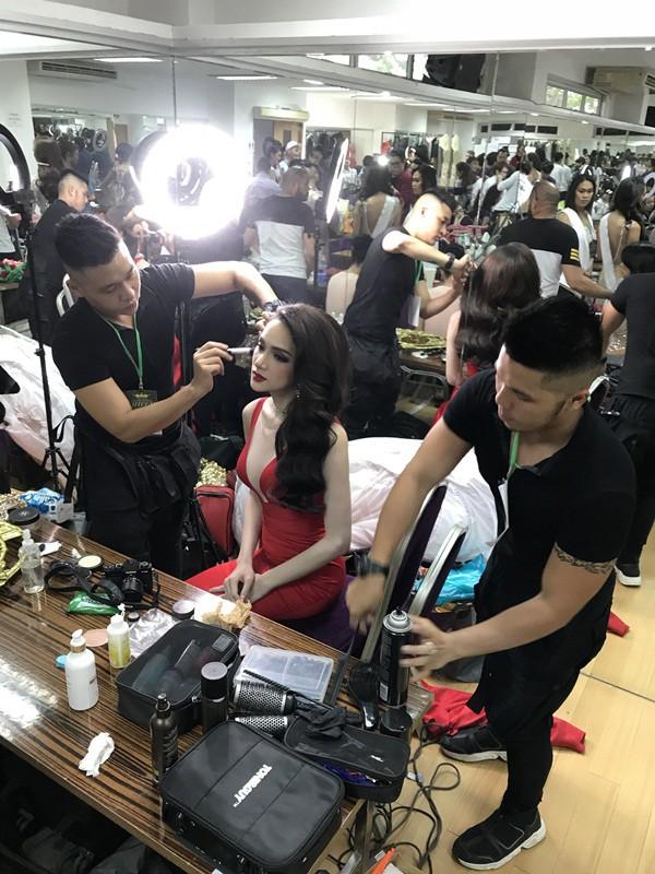 Hương Giang đẹp đến kinh ngạc trong hậu trường trước giờ chung kết Hoa hậu Chuyển giới quốc tế - Ảnh 7.