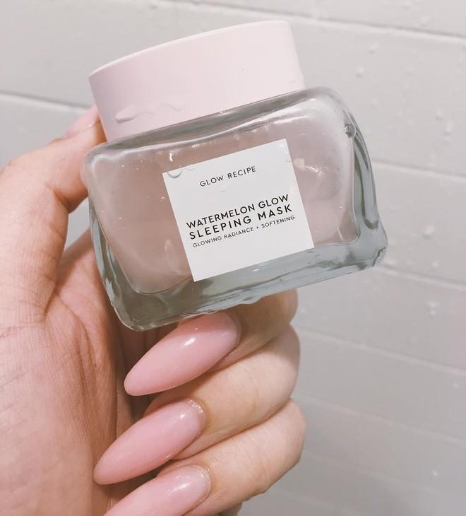 Mặt nạ màu hồng thơm nức mùi dưa hấu, giúp da căng bóng chỉ sau một đêm đang là chân ái của nhiều cô nàng trên Instagram - Ảnh 5.