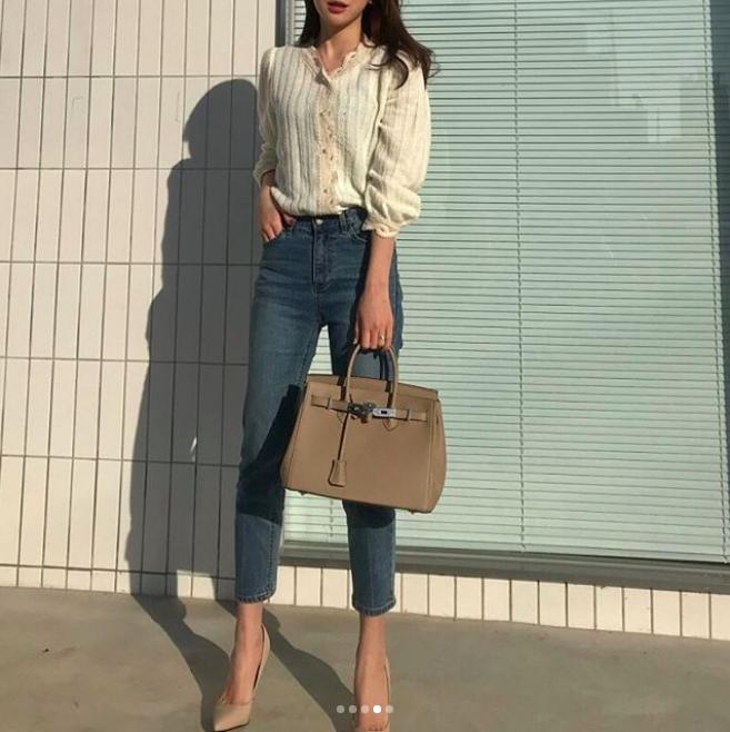 Định mặc quần jeans ống đứng, các nàng hãy chọn 1 trong 4 combo cứ lên đồ là đẹp miễn chê này - Ảnh 14.