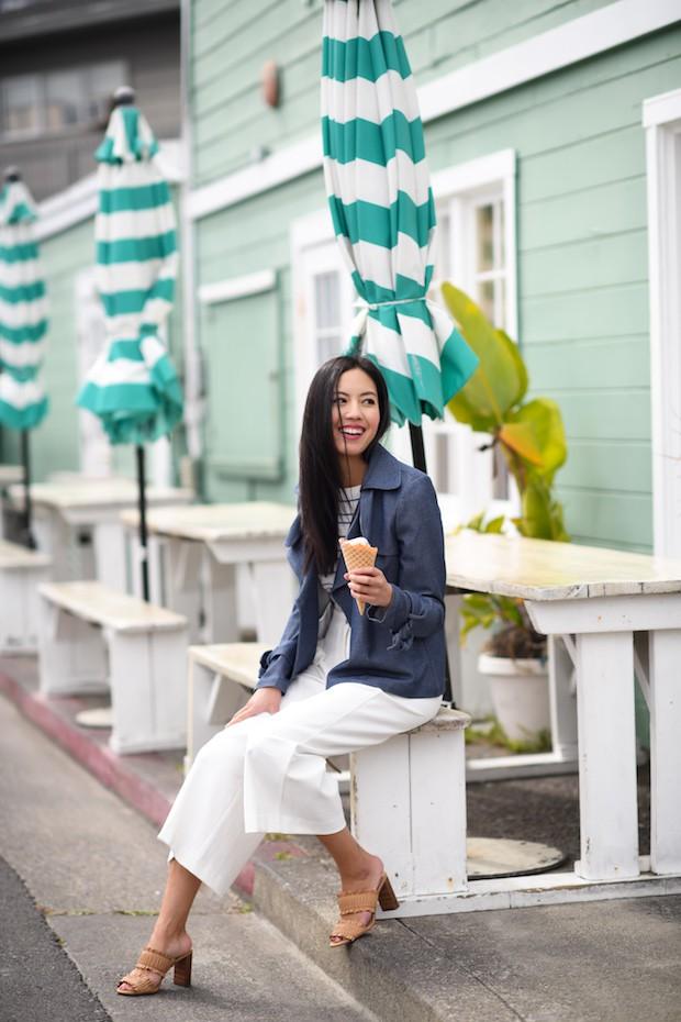 Khởi động mùa du lịch qua loạt street style siêu thú vị của các quý cô châu Á - Ảnh 7.