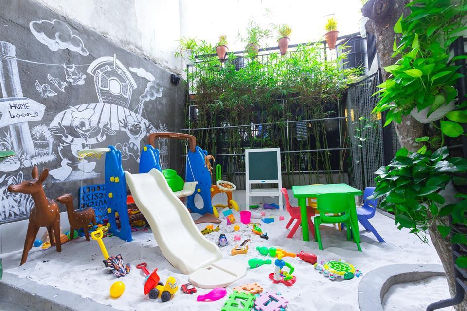 Kết quả hình ảnh cho ảnh quán cafe khu vui chơi trẻ em