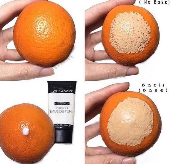 Chiêm ngưỡng sự thay đổi ngoạn mục của vỏ quả cam trong bức hình này, bạn sẽ muốn mua kem lót về dùng ngay và luôn - Ảnh 2.