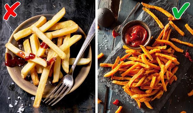 Không muốn bị tăng cân vù vù thì bạn nên thay thế những món khoái khẩu này bằng các thực phẩm lành mạnh hơn - Ảnh 5.