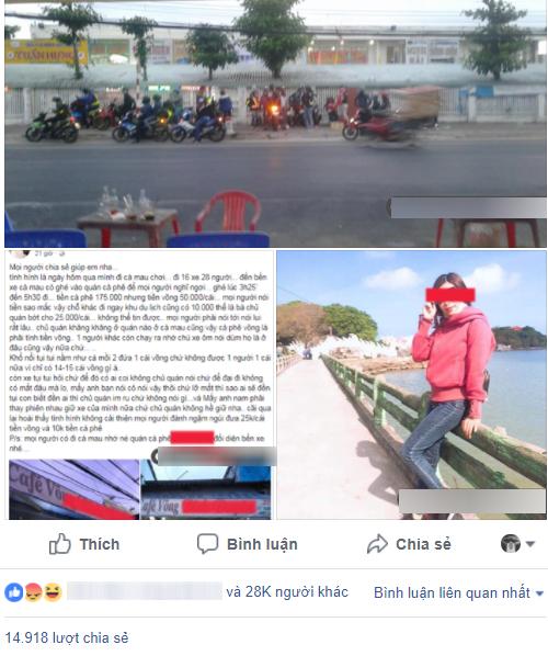 Đoàn phượt thủ 28 người nghỉ qua đêm ở cafe võng tại Cà Mau hết 400k, sau đó lên mạng bóc phốt bị dân mạng ném đá gay gắt - ảnh 1