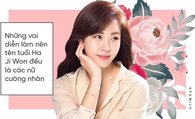 Ha Ji Won: Phụ nữ mạnh mẽ đến mấy cũng cần một bờ vai để bớt chênh vênh - ảnh 3