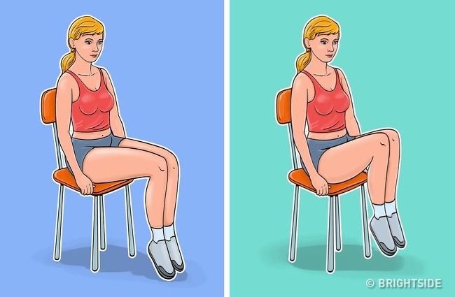 7 bài tập dành cho những người lười đứng lên, thích ngồi ì trên ghế mà vẫn có bụng phẳng, eo gọn gàng - Ảnh 7.