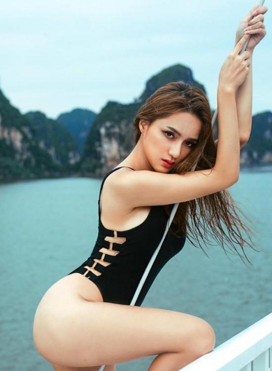 Hoa hậu Hương Giang: Lần đầu được mặc bikini, tôi như sống lại cuộc đời mới - Ảnh 2.