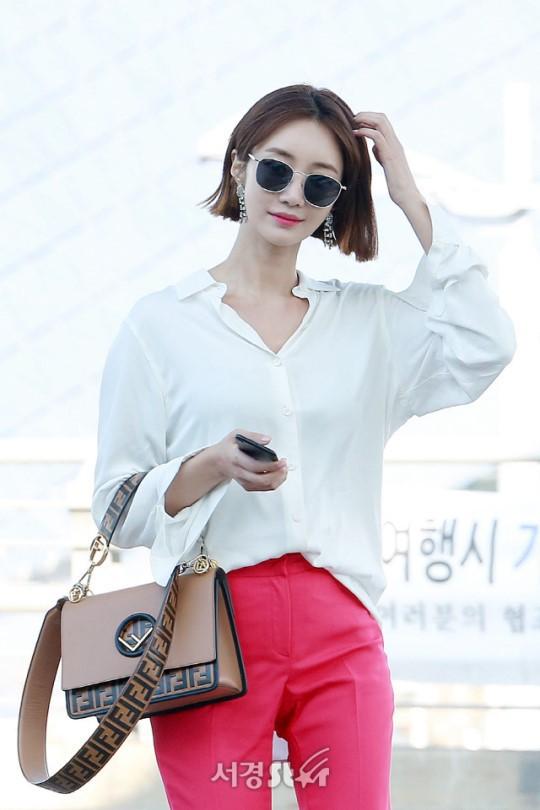 Bao năm rồi mỹ nhân She was pretty Go Jun Hee vẫn gây sốt vì đẹp đẳng cấp và sang chảnh khó tin tại sân bay - ảnh 6