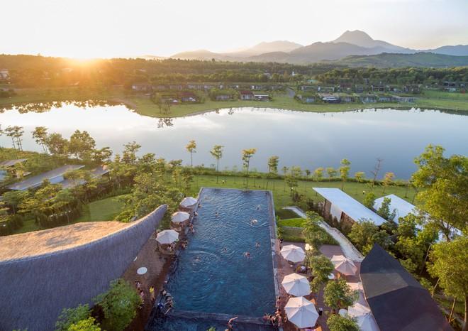 4 resort có khu vui chơi cho trẻ nhỏ chỉ cách trung tâm Hà Nội khoảng 1 giờ đi xe - ảnh 11
