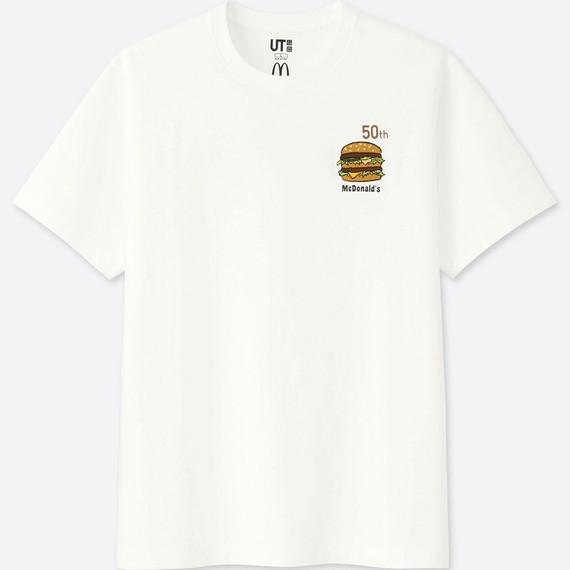 Uniqlo hợp tác với McDonald's ra mắt bộ áo phông siêu cute, mặc đi ăn sẽ được giảm giá 21.000 đồng - Ảnh 2.