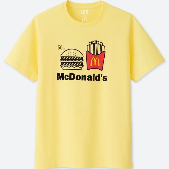 Uniqlo hợp tác với McDonald's ra mắt bộ áo phông siêu cute, mặc đi ăn sẽ được giảm giá 21.000 đồng - Ảnh 7.