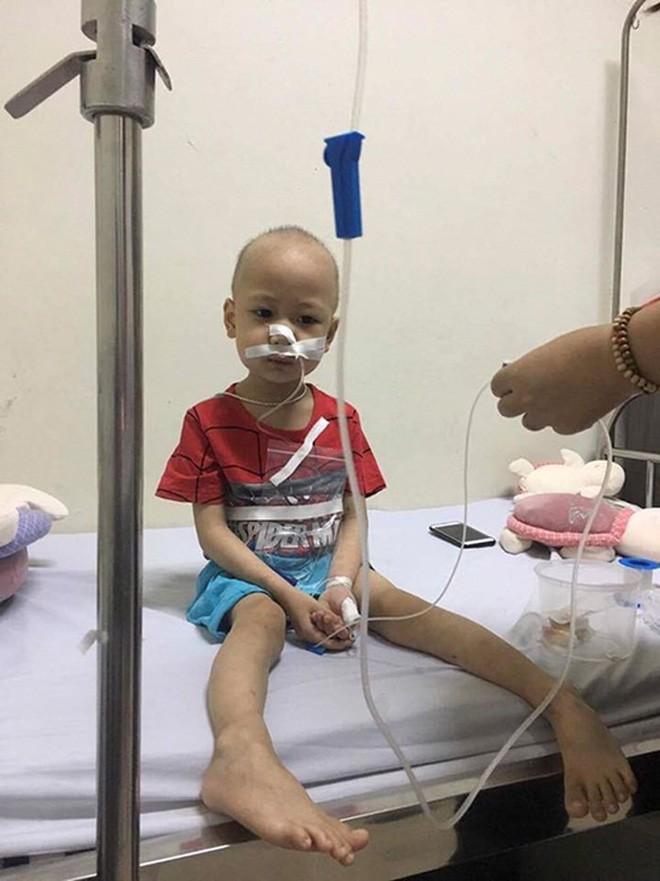 Quang Minh, em bé 4 tuổi chiến đấu với bệnh ung thư máu bằng tất cả niềm lạc quan đã ra đi mãi mãi - Ảnh 3.
