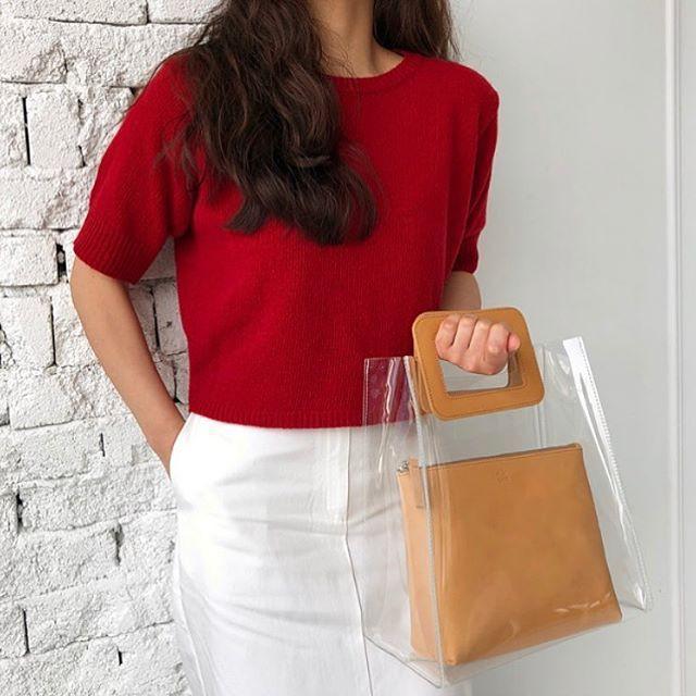 Mùa hè năm nay, túi xách trong suốt chắc chắn sẽ trở thành hot trend - Ảnh 8.