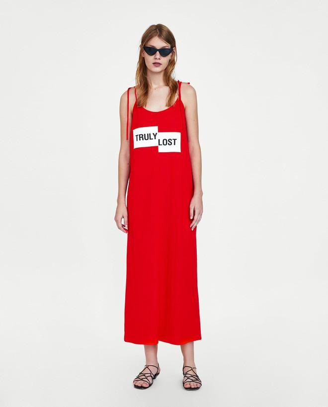 Cùng diện một thiết kế váy 550 nghìn của Zara, Hà Anh dù bầu bí nhưng không hề kém đẹp hơn Hà Hồ - Ảnh 6.