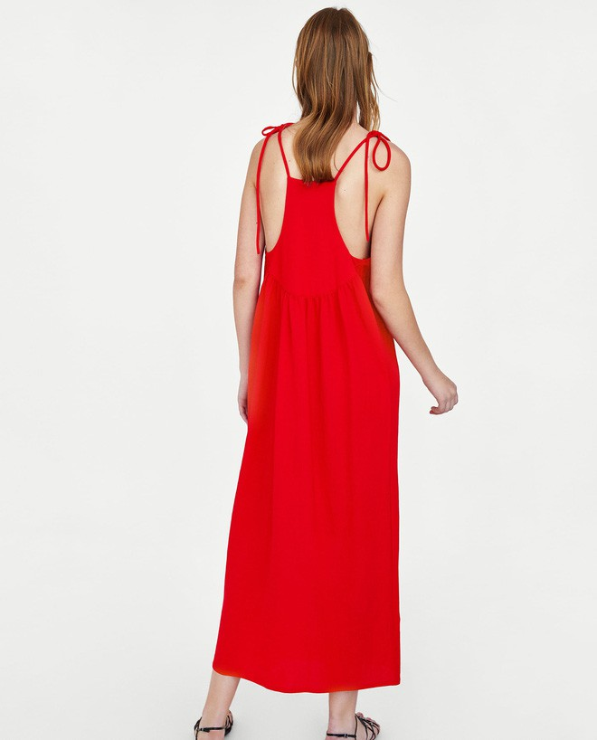Cùng diện một thiết kế váy 550 nghìn của Zara, Hà Anh dù bầu bí nhưng không hề kém đẹp hơn Hà Hồ - Ảnh 7.