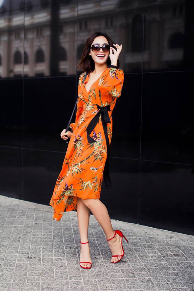 Hà Hồ, Chi Pu và loạt sao Việt lăng xê nhiệt tình thế này thì váy quấn dự là sẽ lại rất hot hè này - Ảnh 5.