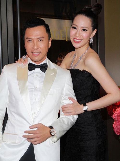 Tài tử Diệp Vấn Chân Tử Đan tổ chức tiệc sinh nhật lãng mạn cho vợ Hoa hậu - Ảnh 2.